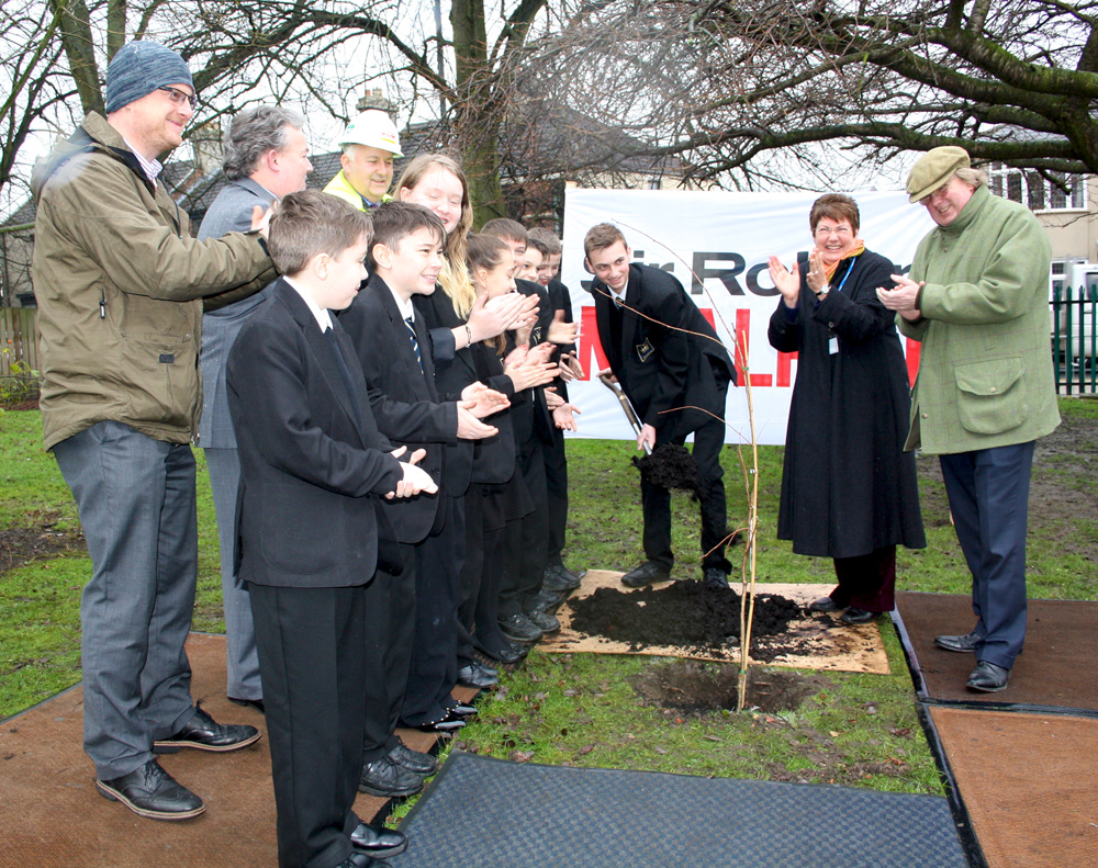 Tree Planting Ceremony Marks the Beginning of a New Chapter