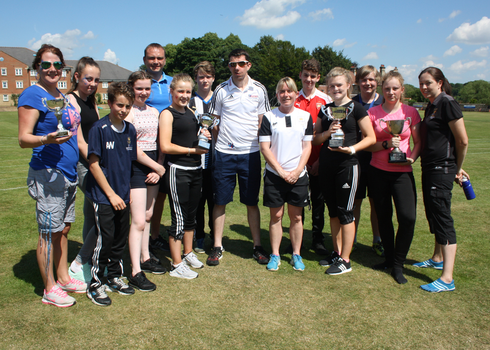 Paralympic Athlete joins us for Sports Day