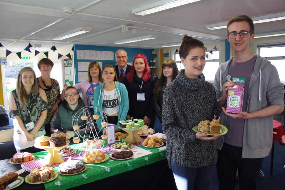 Over £200 Raised from Macmillan Coffee Morning