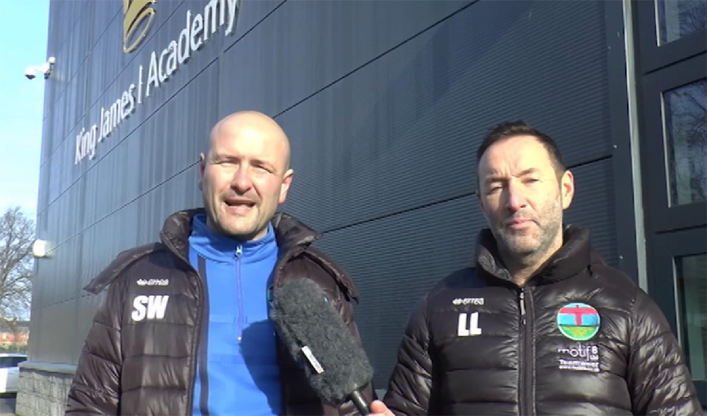 King James I Academy featured on North East Football Show