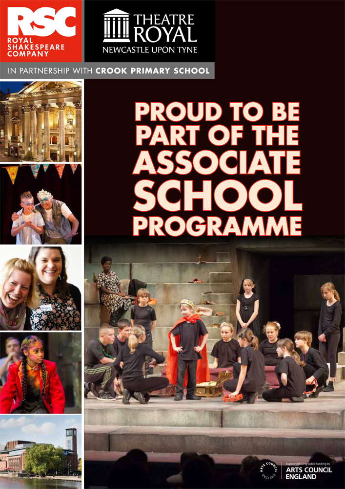 Officially a Royal Shakespeare Company Associate School