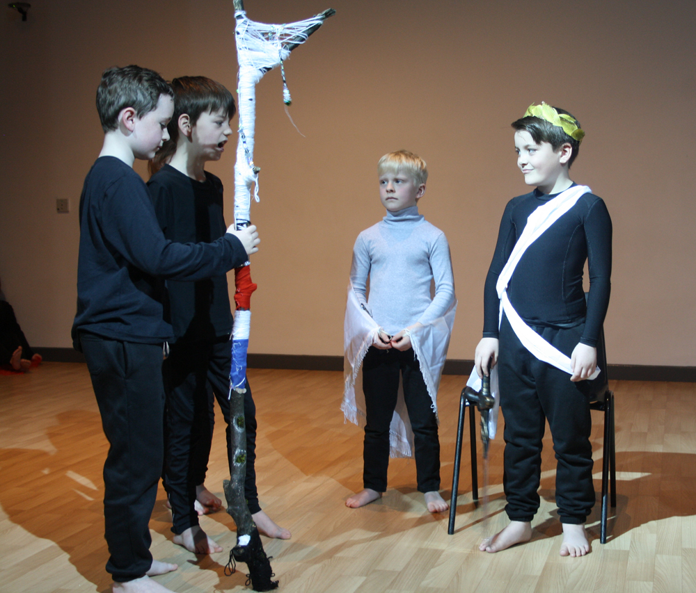 Primary Shakespeare Festival at King James