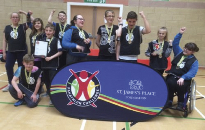 Panathlon Champions Bring Home the Trophy