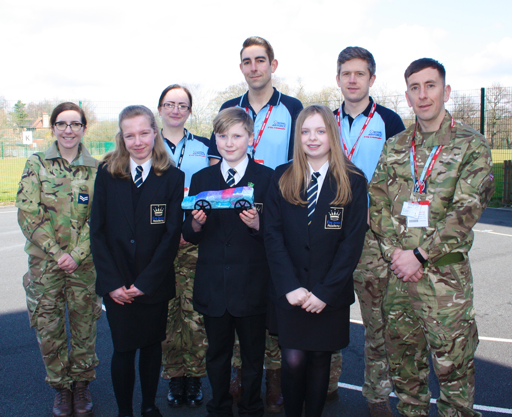 Race to the Line with RAF Leeming Bar