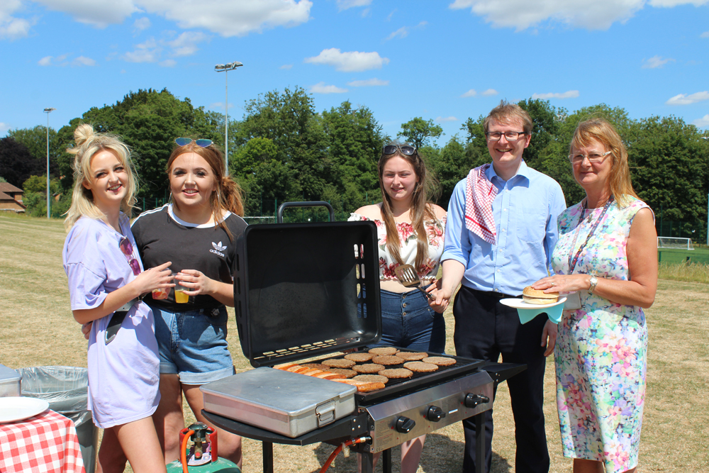 Farewell Barbeque for Year 13s