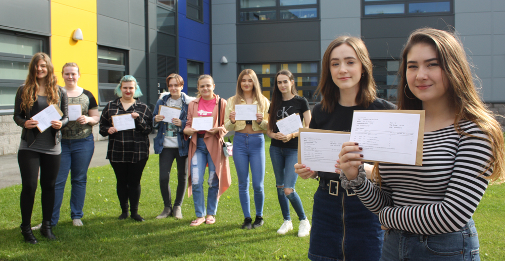Sixth Form Students Celebrate Fantastic Results!