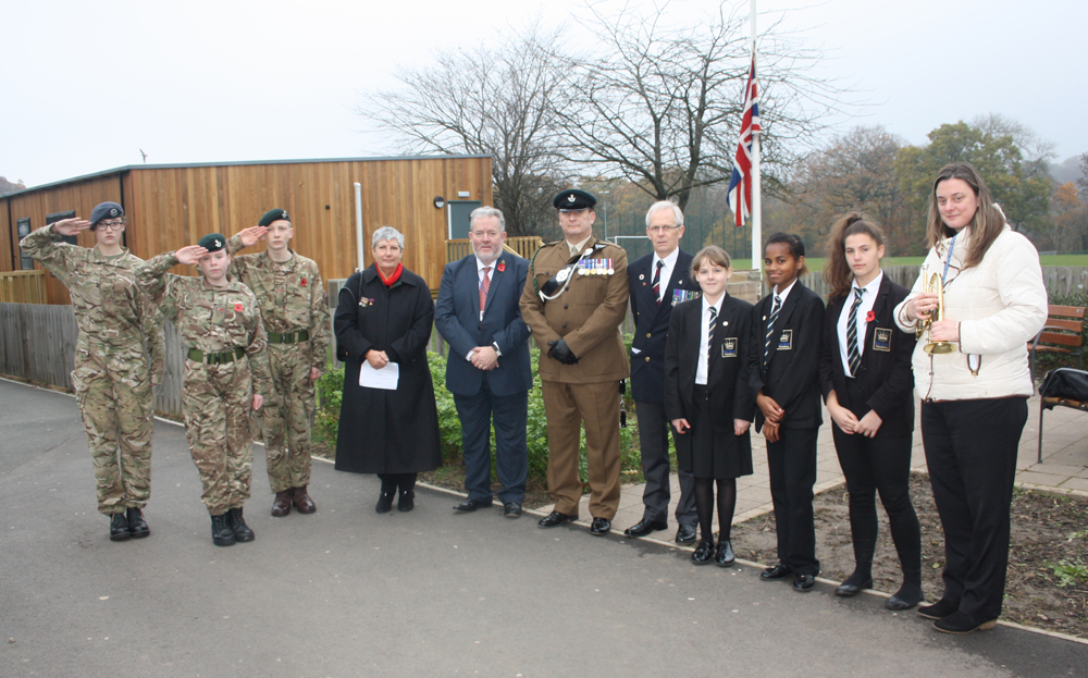 Remembrance Service at King James
